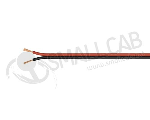 Cable audio Haut-Parleur OFC 2x1.5mm par 10cm